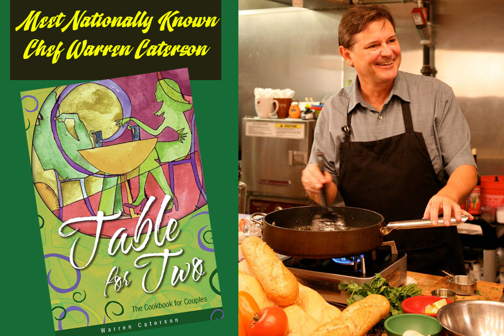 Chef Warren Caterson at the Tampa Home Show